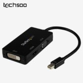 مبدل Mini DisplayPort به HDMI/VGA/DVI مدل StarTech