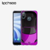 قاب محافظ HTC U12 Life مدل Purple Cars Case